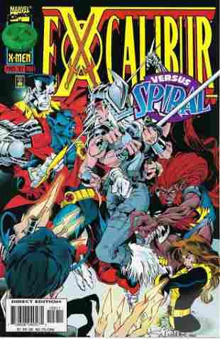 Excalibur Marvel Comic Book #109