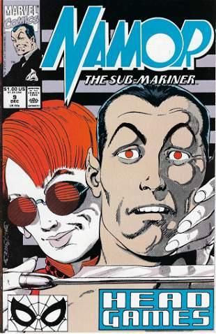 Namor The Sub-Mariner Marvel Comic Book #9