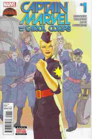 Captain Marvel and the Carol Corps Marvel Comic Book #1