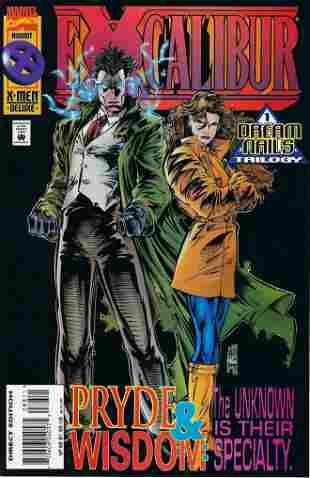 Excalibur Marvel Comic Book #88