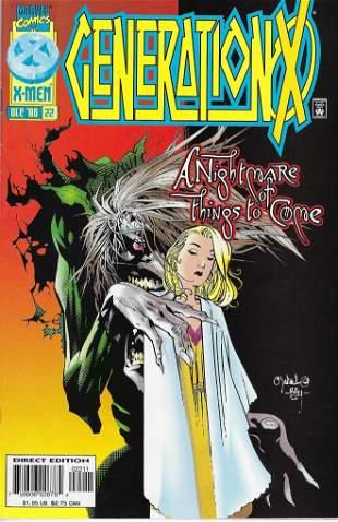 Generation X Marvel Comic Book #22