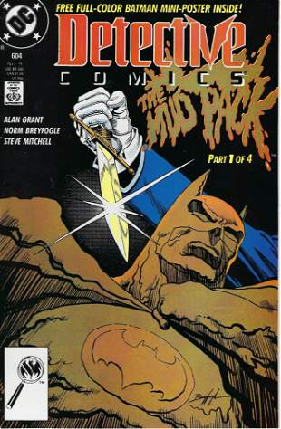 Detective Comics DC Comic Book #604