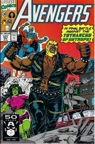Avengers Marvel Comic Book #331
