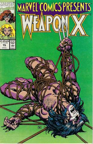 Marvel Comics Presents Weapon X Marvel Comic Book #75