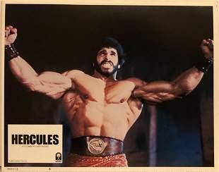 Hercules original 1983 vintage lobby card