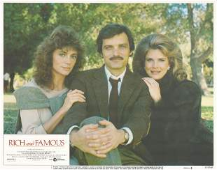 Rich and Famous 1981 original vintage lobby card