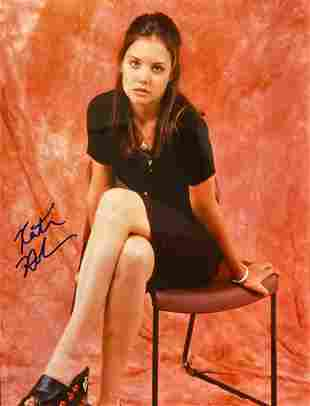 Katie Holmes Signed Photo