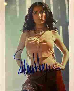 Salma Hayek Signed Photo