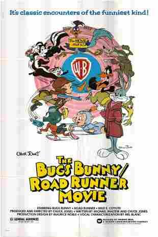 The Bugs Bunny/Road Runner Movie Original 1979 Vintage