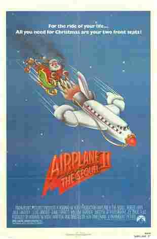 Airplane II Original 1982 Vintage One Sheet Poster