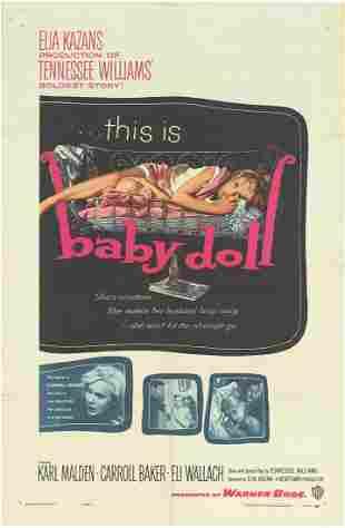 Baby Doll Original 1957 Vintage One Sheet Poster