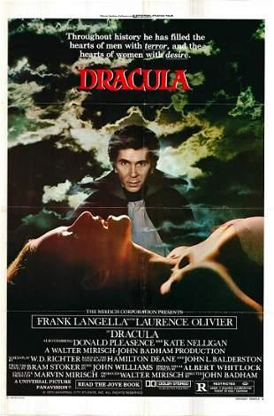 Dracula Original 1979 Vintage One Sheet Poster