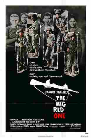 The Big Red One Original 1980 Vintage One Sheet Poster