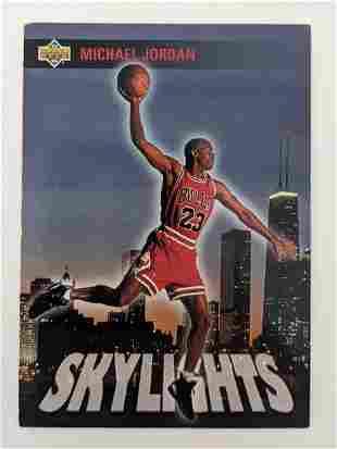 Michael Jordan Basketball Trading Card - Upper Deck