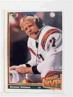 1991 Upper Deck #454 Boomer Esiason MVP NFL Football