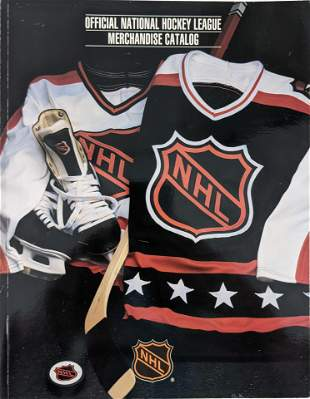 Official National Hockey League Merchandise Catalog