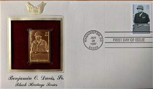 Black Heritage Series Benjamin O. Davis, Jr. Gold Stamp