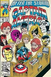 Captain America Marvel Comic Book #401