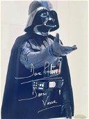 Darth Vader David Prowse Signed Photo