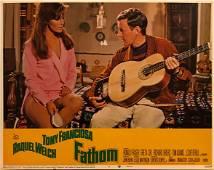 Fathom 1967 original vintage lobby card