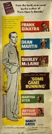 Some Came Running 1959 original vintage insert card