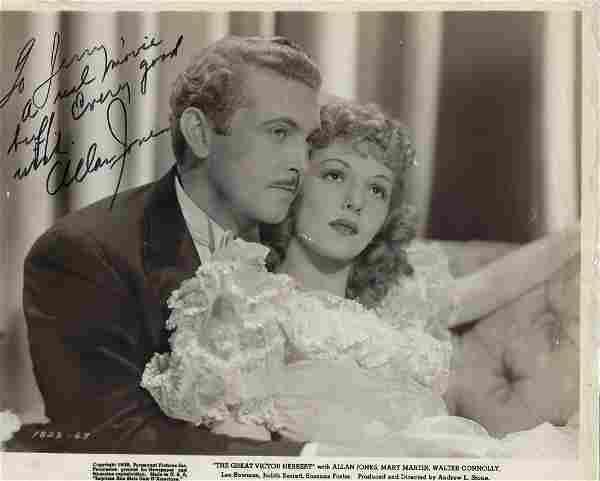 Allan Jones The Great Victor Herbert signed photo