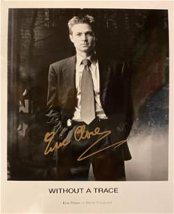 Without a Trace Eric Close signed photo