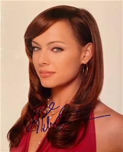Melinda Clarke signed photo