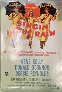 Singin' In The Rain Re-Issue poster