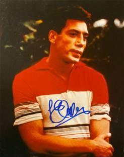Javier Bardem signed movie photo