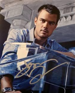 Las Vegas Josh Duhamel signed photo
