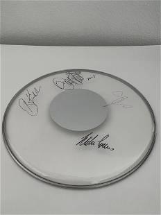 Toto signed drum head