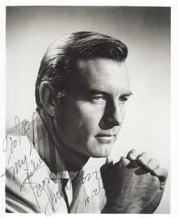 George Montgomery signed photo