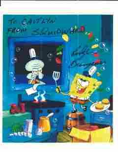 SpongeBob SquarePants Rodger Bumpass signed photo