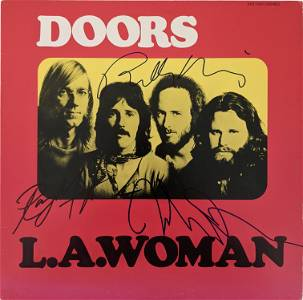 The Doors L.A. Woman Signed Album - JSA Authenticated