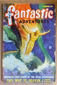 Fantastic Adventures October 1948 original vintage pulp