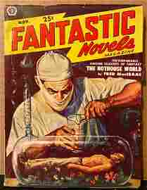 Fantastic Novels November 1950 original vintage pulp