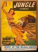 Jungle Stories original 1952/SPR vintage pulp magazine