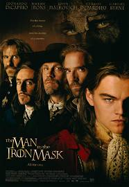 The Man in the Iron Mask 1998 original movie poster