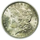 1896 Morgan Dollar PCGS MS-62
