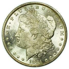 1881-CC Morgan Dollar - High Grade