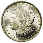 1883-O Morgan Dollar NGC MS-65