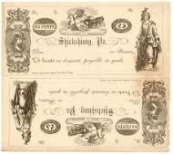186- Pennsylvania 25 Cents Uncut Sheet