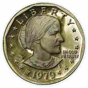1979 Proof Type 1 Susan B. Anthony Dollar