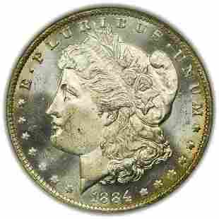 1884-O Morgan Dollar NGC MS-64 PL