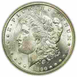 1890-CC Morgan Dollar NGC MS-62