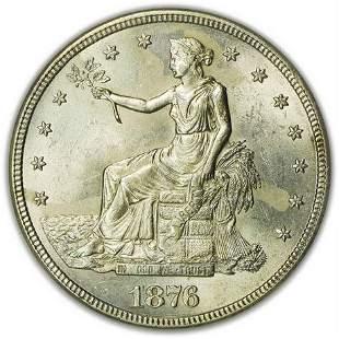 1876-S Trade Dollar NGC MS-61