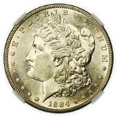 1884-S Morgan Dollar NGC AU-58