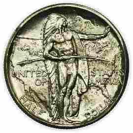 1933-D Commemorative Oregon Trail Memorial Half Dollar