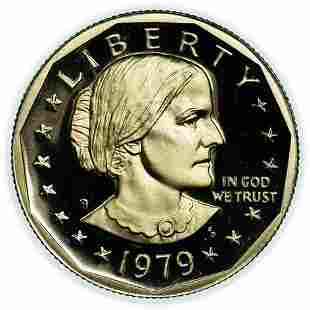 1979-S Proof Susan B. Anthony Dollar